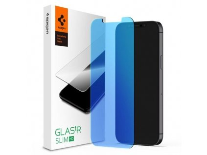 eng pm Szklo Hartowane Spigen Glass Tr Antiblue Iphone 12 Mini 64755 1