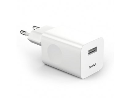 eng pm Baseus Charging Quick Charger Travel Charger Adapter Wall Charger USB Quick Charge 3 0 QC 3 0 bialy white CCALL BX02 40777 2