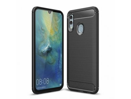 eng pm Carbon Case Flexible Cover TPU Case for Huawei P Smart 2019 Honor 10 Lite black 47093 1