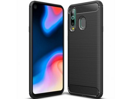 eng pm Carbon Case Flexible Cover TPU Case for Huawei Honor 20 Lite black 51826 1