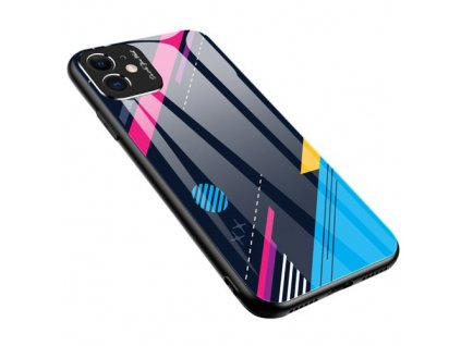 eng pm Color Glass Case Durable Cover with Tempered Glass Back and camera cover iPhone 11 pattern 4 57596 1