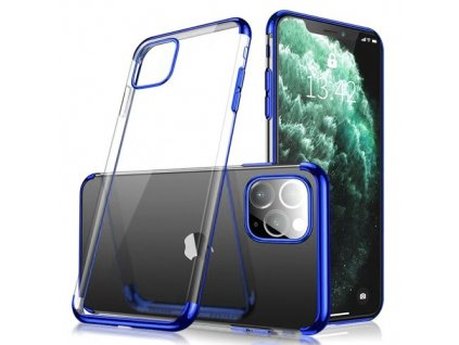 eng pm Clear Color Case Gel TPU Electroplating frame Cover for iPhone 11 blue 59862 1