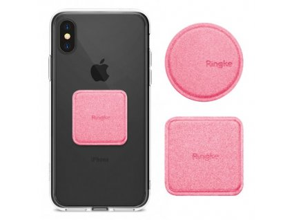 eng pm Ringke Magnetic Mount Metal Plate 2x PU Leather Covered Self Adhesive Metal Plate for Magnetic Car Holders pink ACPU0002 40170 10 (1)