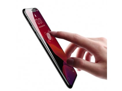 pol pm Baseus szklo hartowane na caly ekran Full Screen z ramka 0 23mm 9H iPhone 11 Pro iPhone XS iPhone X pozycjoner czarny SGAPIPH58 APE01 53336 1