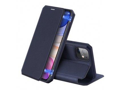pol pm DUX DUCIS Skin X kabura etui pokrowiec z klapka iPhone 11 niebieski 55103 1