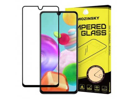 eng pm Wozinsky Tempered Glass Full Glue Super Tough Screen Protector Full Coveraged with Frame Case Friendly for Samsung Galaxy A41 black 59820 1