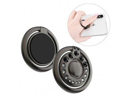 eng pm Kingxbar Adore Series self adhesive ring holder kickstand black 61604 8