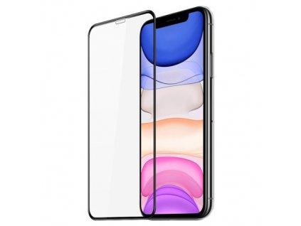 pol pm Dux Ducis 10D Tempered Glass wytrzymale szklo hartowane 9H na caly ekran z ramka iPhone 11 czarny case friendly 65257 1