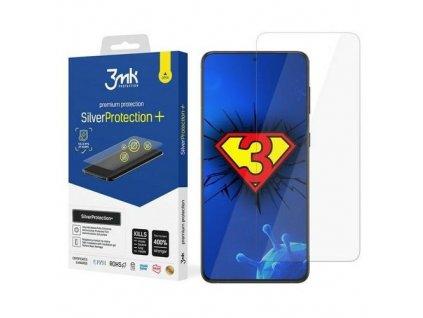 eng pm 3MK Silver Protect Sam G998 S21 Ultra Folia Antymikrobowa montowana na mokro 68218 1
