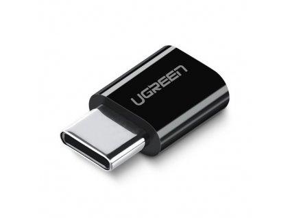 pol pm Ugreen adapter przejsciowka z micro USB na USB Typ C czarny 30391 57314 18