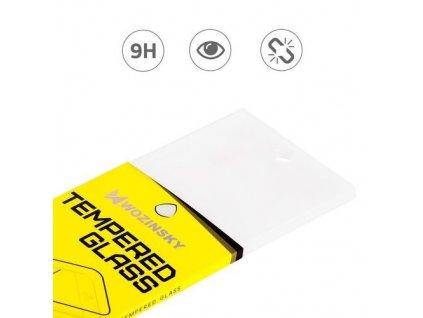 pol pm Wozinsky Full Cover Flexi Nano folia szklana szklo hartowane z ramka Samsung Galaxy A41 czarny 62521 10