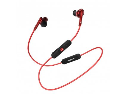 eng pl Baseus Encok S30 in ear wireless headphones Bluetooth 5 0 headset with remote control red NGS30 09 51222 1