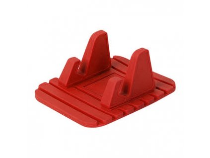 eng pl Silicone Car Phone Holder Dashboard Desktop Stand red 54564 1