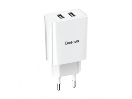 eng pm Baseus wall charger adapter 2x USB 2 1A 10 5W white CCFS R02 56248 1