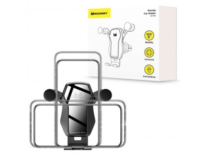 eng pl Wozinsky horizontal vertical Gravity Car Mount Phone Holder for Air Outlet black WCH 04 56774 13