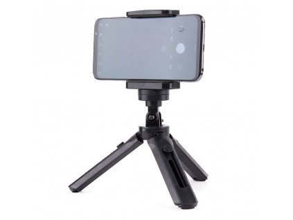 eng pl Mini Tripod with phone holder mount selfie stick camera GoPro holder black 59655 14