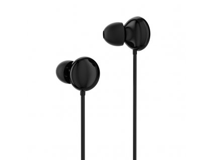 eng pl Dudao in ear earphone mini jack 3 5 mm headset with remote control black X11Pro black 61627 1