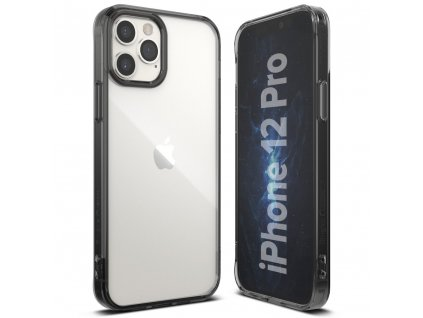 eng pl Ringke Fusion PC Case with TPU Bumper for iPhone 12 Pro iPhone 12 grey FSAP0055 63904 3