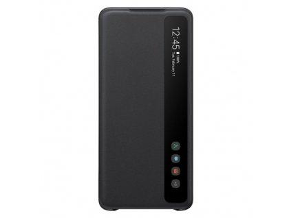 pol pm Samsung Clear View Cover futeral etui z inteligentna klapka Samsung Galaxy S20 Plus czarny EF ZG985CBEGEU 57841 1