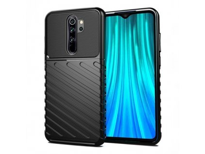 eng pm Thunder Case Flexible Tough Rugged Cover TPU Case for Xiaomi Redmi 9 black 62739 1