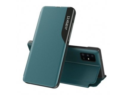 eng pm Eco Leather View Case elegant bookcase type case with kickstand for Huawei P40 green 63631 1