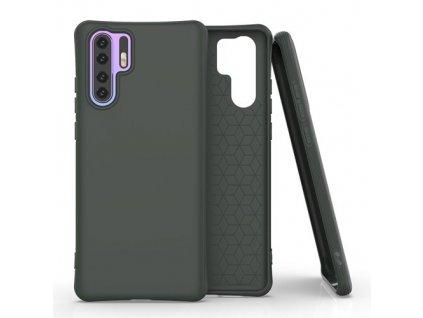 pol pm Soft Color Case elastyczne zelowe etui do Huawei P30 Pro ciemnozielony 61431 1