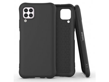 pol pm Soft Color Case elastyczne zelowe etui do Huawei P40 Lite Nova 7i Nova 6 SE czarny 61433 1