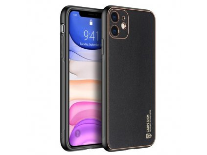 eng pm Dux Ducis Yolo elegant case made of soft TPU and PU leather for iPhone 12 mini black 63992 1