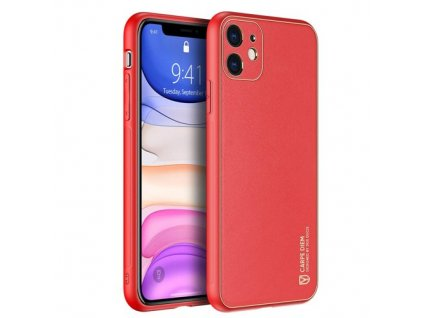 eng pm Dux Ducis Yolo elegant case made of soft TPU and PU leather for iPhone 12 mini red 63993 1
