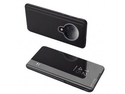 pol pm Clear View Case futeral etui z klapka Xiaomi Redmi K30 Pro Poco F2 Pro czarny 60484 9