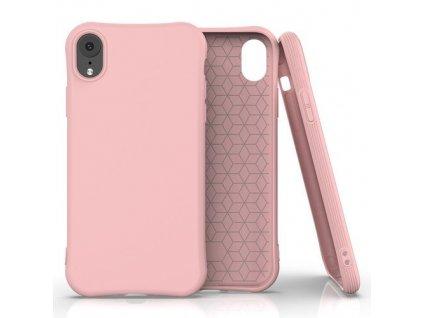 pol pm Soft Color Case elastyczne zelowe etui do iPhone XR rozowy 61472 1