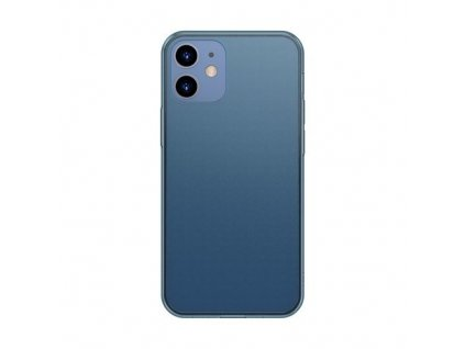 eng pm Baseus Frosted Glass Case Hard case with a flexible frame iPhone 12 mini Navy blue WIAPIPH54N WS03 64099 1