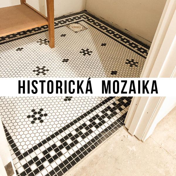 historická mozaika na zakázku