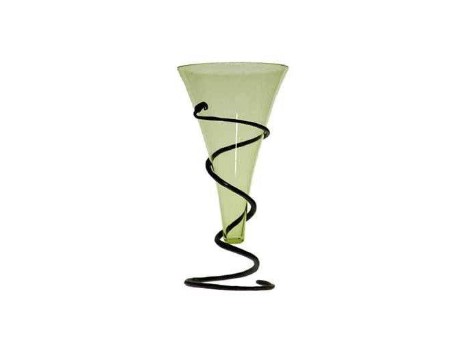 pohár vikingů ze skla