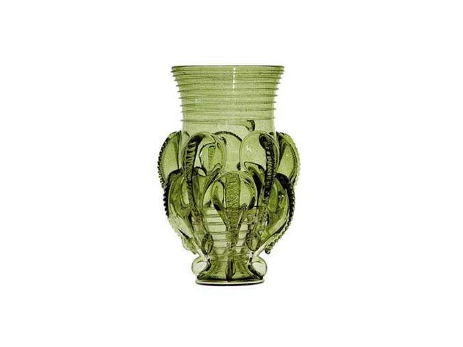 Rüsselbecher dekorativní historicka sklenice