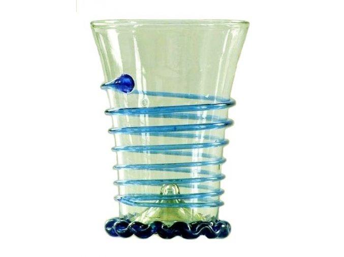 barevná sklenice