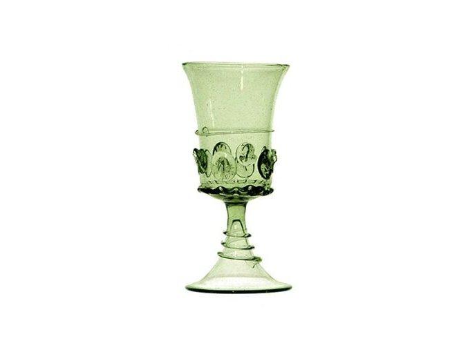 skleněný pohár na pití