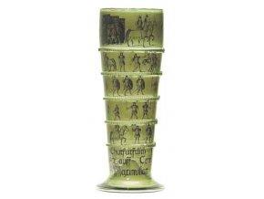 pasovací pohár ručně malovaný