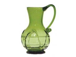 džbán z lesního skla