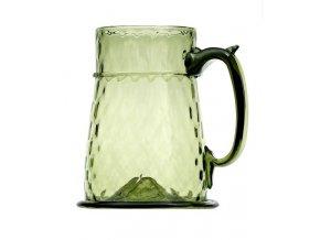 pivní sklo holba