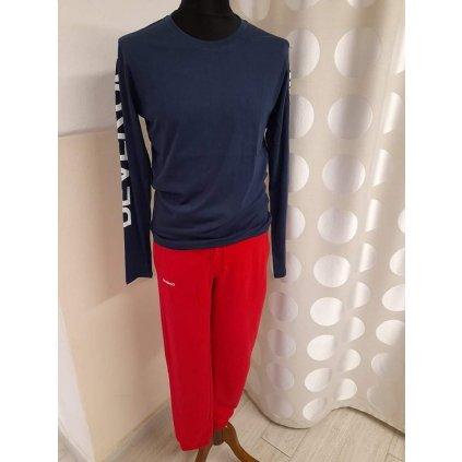 Pánské tričko Devergo dlouhý rukáv