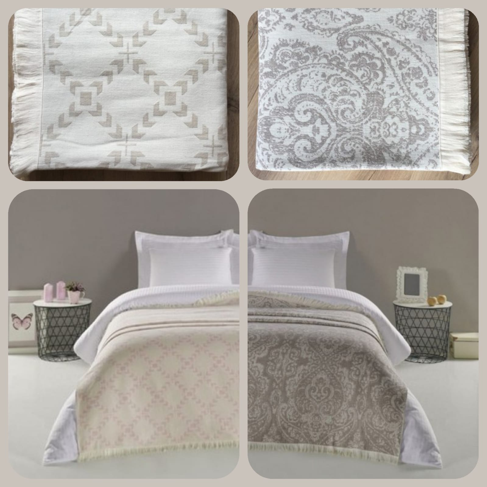 Přehoz na postel bude nejen estetickým doplňkem vaší ložnice