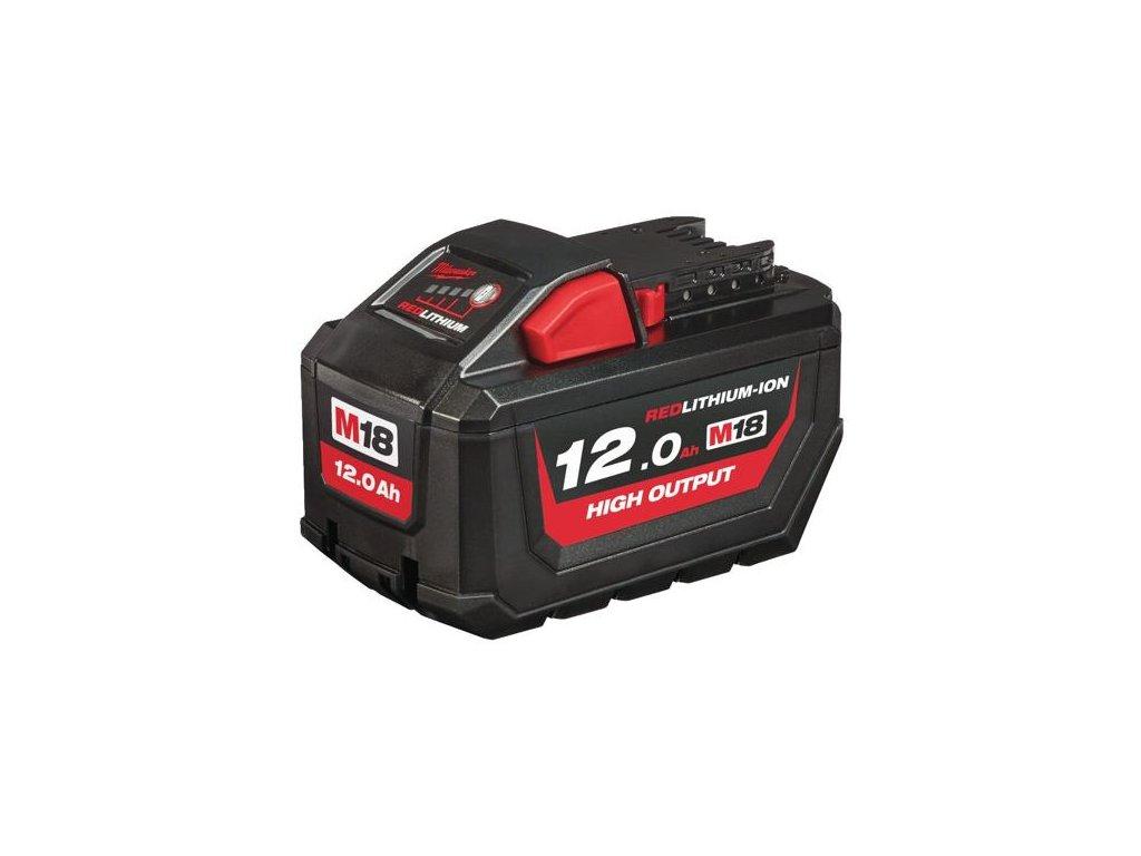 Baterie Milwaukee M18 HB12 - 18 V / 12,0 Ah HIGH OUTPUT Li-Ion