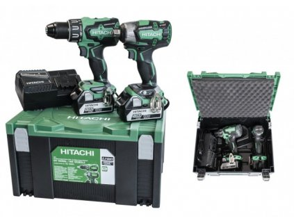 2437 hitachi hikoki kc18dplwb 2 dilny set