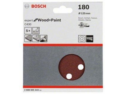 Bosch brusný papír 2608605644 - 5 ks