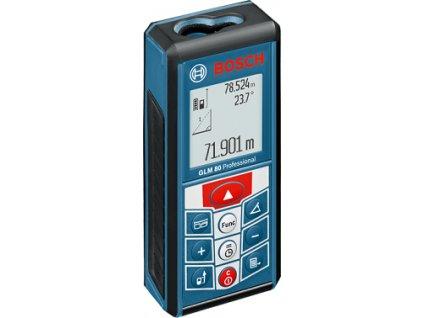 Laserový měřič vzdáleností Bosch GLM 80 Professional 0601072300