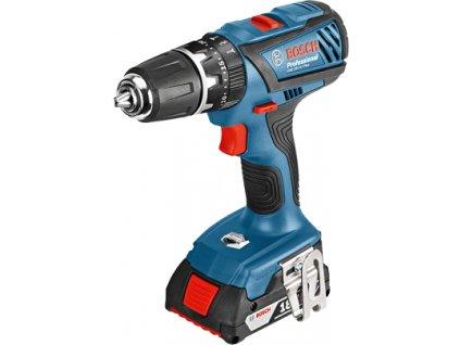 Aku šroubovák s příklepem Bosch GSB 18-2-LI Plus Professional 0 601 9E7 120