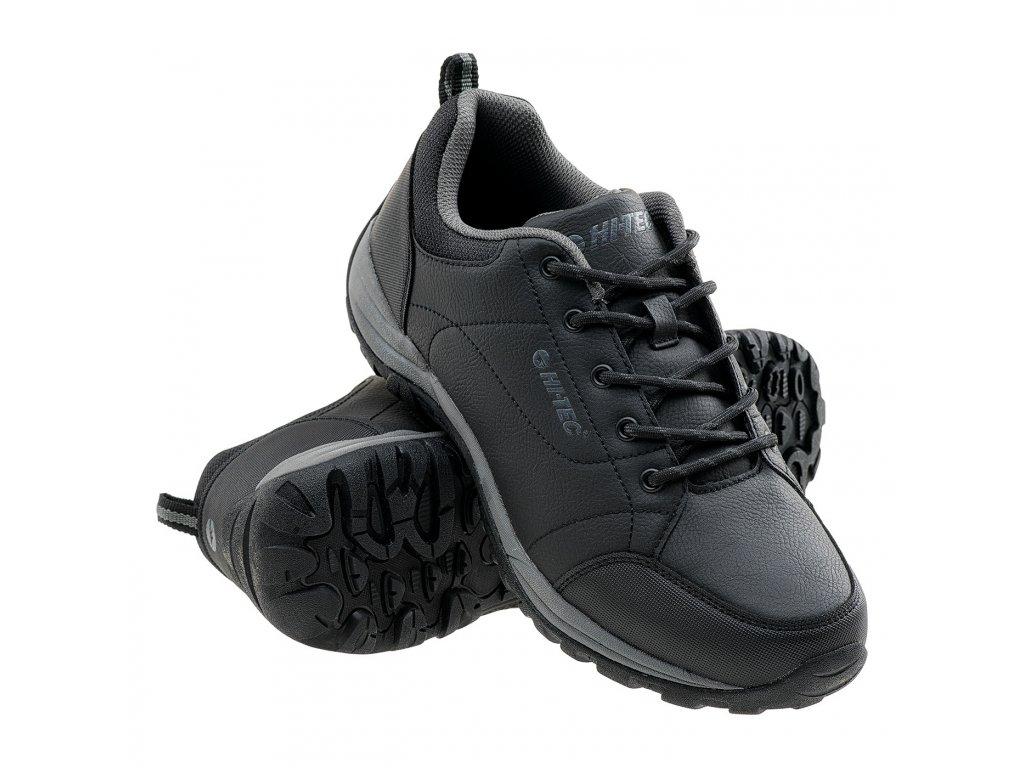 hi tec canori low cerne panska trekova obuv boty obe