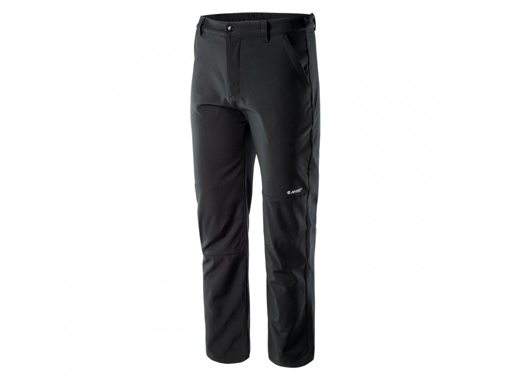 hi tec celio panske softshellove kalhoty cerne (2)