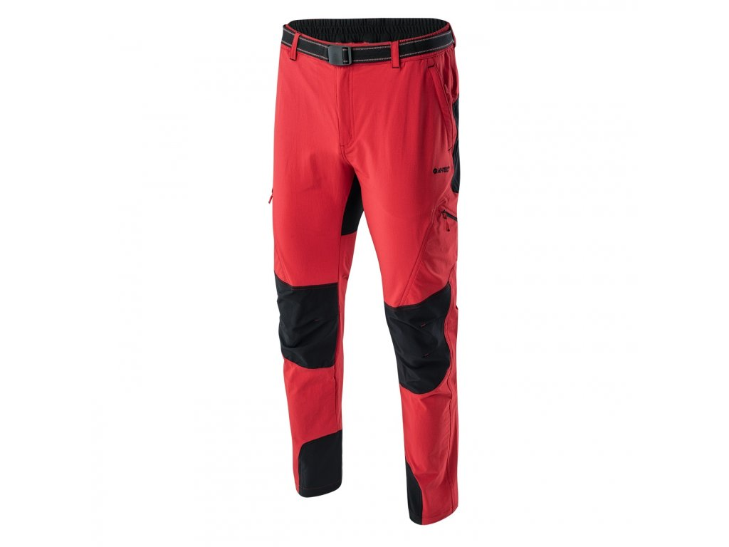hi tec panske trekove kalhoty cerno cervene3